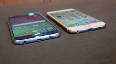 Samsung Galaxy vs iPhone 6 Samsung Galaxy vs iPhone We put these two brilliant phones head-to-head to see which one wins in all of the key areas. Bizarre Pictures, Best Funny Pictures, Samsung Galaxy S6, Download Free Ringtones, Ipad, Android, Things To Come, Good Things, Galaxy Note 8