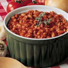Ranch Beans Recipe -This recipe is served at all of our barbecues. It seems most people who live here like spicy flavorful food, and this fits the bill just right.
