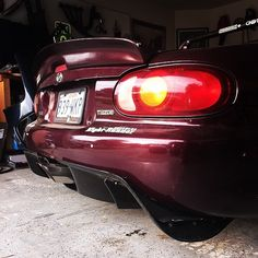 Ducktail and diffuser with nice center exhaust.