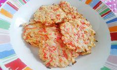 από τηνChristina Daskalou Υλικά: 8 μεγάλες γαρίδες ή 8 μπαστουνάκια σουρίμι αν θέλετε (εγώ Dukan Diet, Cauliflower, Grains, Rice, Meals, Vegetables, Cooking, Recipes, Food