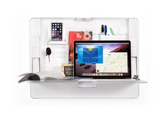 Workspace Hub27 Wall Mount Organizer & Desk | ErgotronHome Selling all of my furniture & consolidating to this
