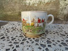 Tea Cup  Arklow Ireland  Ireland Tally Ho  by CottonCreekCottage, $14.99