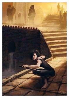 Cat of the Canals (Arya Stark) by ~ReneAigner on deviantART