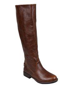 Brown Estes Boot #zulily #zulilyfinds
