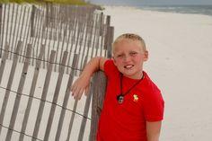 Beach photo session
