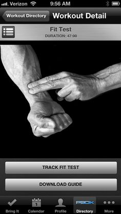 P90X App for your phone