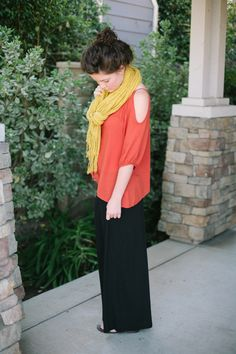 Every girl should have a maxi skirt // Day 4 | Hello, Lovely