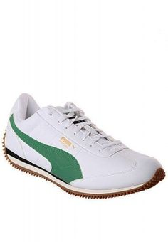 da54359602e4 Ideal for any outdoor activity these white pair of Puma sports shoes are  designed for a