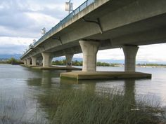 Another shot from the under belly of the No. 2 Road bridge connecting Richmond to Vancouver through Vancouver International Airport. International Airport, British Columbia, Vancouver, City, Bridges, Cities