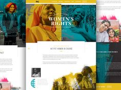 PAI Annual Report web design web landing page homepage webpage humanitarian womens rights charity rights website Annual Report Layout, Annual Report Covers, Annual Reports, Charity Websites, Nonprofit Annual Report, Report Design Template, Graphic Design Resume, Newspaper Design, Web Design Trends