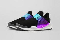 NikeLab Sock Dart Black Grape | Preview