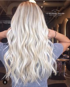 Keep blonde hair healthy beachy blonde hair, blonde Healthy Blonde Hair, Blonde Hair Looks, Best Hair Salon, Platinum Blonde Hair, Hair Health, Hair Highlights, Hair Inspiration, Hair Inspo, Hair Goals