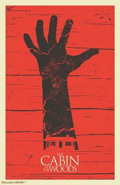 Cabin in the Woods - movie poster - William Henry