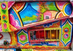 Color :) Truck Art Pakistan