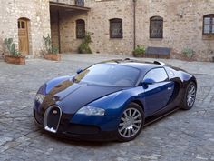 Bugatti 2007 EB Veyron 16.4 blue+black tan int