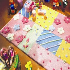 Modern Rugs for Children, these rugs promote learning through play, engaging and entertaining. Lowes Area Rugs, Kids Area Rugs, Girls Rugs, Picnic Blanket, Outdoor Blanket, Childrens Rugs, Edible Crafts, Ikea Kids, Braided Rugs