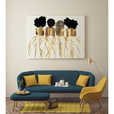 Striking Funky Home Decor reference 1251138110 - Simply funky help to build a jaw dropping teen girl room. Artwork For Living Room, Living Room Decor, Bedroom Decor, Interior Design Living Room, Living Room Designs, Interior Decorating, Room Colors, House Colors, Funky Home Decor