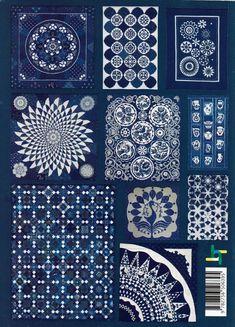 Gyönyörű magyar kékfestő quiltek   Patchwork Design