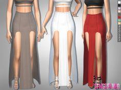 sims2fanbg's 303 - Open Skirt Waterfall