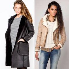 Модные женские дубленки 2017-2018 (10)