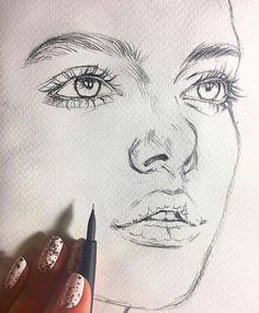 The drawing could include: drawing - face drawing - . - The drawing could include: drawing – face drawing – Pencil Art Drawings, Realistic Drawings, Art Drawings Sketches, Drawing Drawing, Face Drawing Easy, Pencil Sketching, Art Illustrations, Arte Sketchbook, Face Sketch