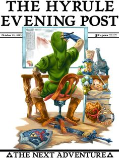 The Hyrule Evening Post Created byJoshua Tufts