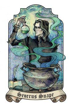 Severus Snape by Lily--Lu
