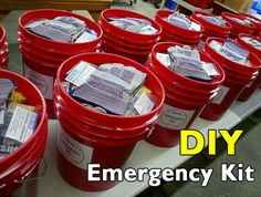 A disaster can strike at any minute. Are you prepared? From earthquakes and floods to something as simple as a power outage, if there is an emergency it pays to have an emergency kit ready. Use these ideas and instructions to build your own, custom tailored for your family or situation. Get more details at …