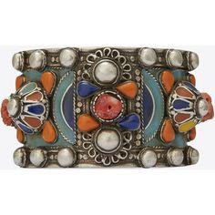 9eb2c19c0b9c Saint Laurent Marrakech Cuff Bracelet ( 715) ❤ liked on Polyvore featuring  jewelry