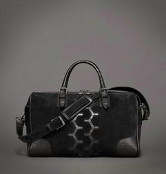 Belstaff bag with signature motorcycle track design