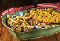 Rachael Ray's Southwestern Chili Con Queso Pasta Baked