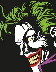 The Joker - Zombie Reynolds Batman Art, Marvel Dc Comics, Gotham Batman, Batman Robin, Joker Dc, Joker And Harley Quinn, Joker Painting, Comic Villains, Arte Popular