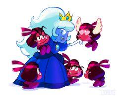 Princess Sapphire and her Roombas by dou-hong.deviantart.com on @DeviantArt