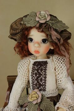 "Handmade outfit ""Little Lady"" for 18"" Kaye Wiggs Izzy, Layla, Hope MSD, BJD"