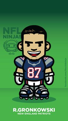 Rob Gronkowski iPhone 5 Wallpaper by The-Kidninja :) #Gronk #Gronkowski #TheKidninja #KDNJ #NFL #Patriots #PatsCamp #NewEngland #iphone #wallpaper #Toon