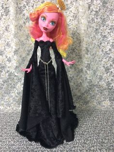 """Clothes Fashion 4 Your Gooliope Jellington 17"""" Monster High Doll Seeing Black 