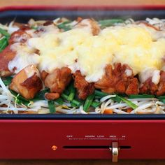 ホットプレートで、チーズとろけるタッカルビ風 by 加瀬 まなみ 「写真がきれい」×「つくりやすい」×「美味しい」お料理と出会えるレシピサイト「Nadia   ナディア」プロの料理を無料で検索。実用的な節約簡単レシピからおもてなしレシピまで。有名レシピブロガーの料理動画も満載!お気に入りのレシピが保存できるSNS。