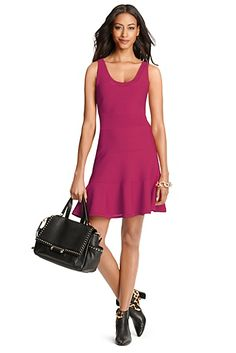 Perry Dress Dvf New Perry Knit Flared Dress In