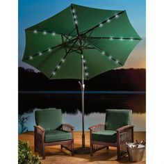 Rectangular Patio Umbrella With Solar Lights Captivating Rectangular Patio Umbrella Rectangular Patio Umbrella Square Decorating Inspiration