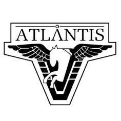 Stargate SG1 Atlantis Laptop Vinyl Decal