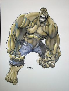The Hulk by Humberto Ramos
