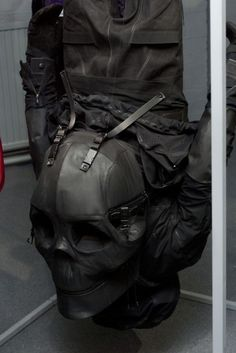 Skull bag by Aitor Throup