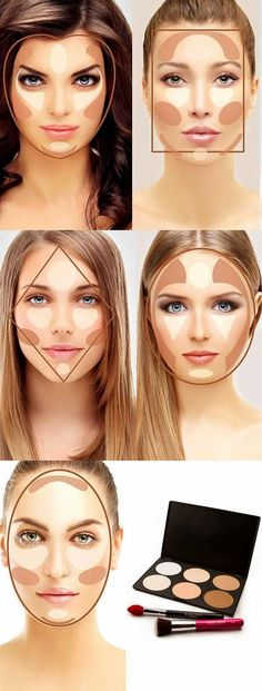 Contour Makeup Tutorial Round Face Hairsjdi Org