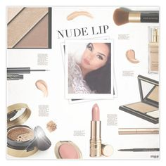 """""""The Perfect Nude Lip"""" by marion-fashionista-diva-miller ❤ liked on Polyvore featuring beauty, Elizabeth Arden, GALA and nudelip"""