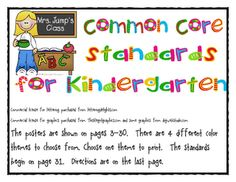 Mrs Jump's class: Frog Street Splash and Common Core Standards