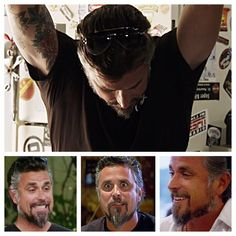 """It's tough being a monkey #RichardRawlings #FastNLoud #beard #GasMonkeyGarage"""