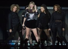 Taylor Swift performing at B96's Jingle Bash in Chicago on December 7, 2017