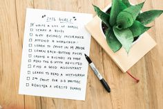 list of goals for first year photography business