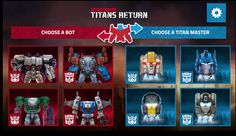 New Titans Return & RIS Games Roll Out on Transformers Official Site