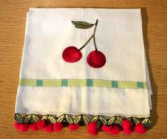 Lovely Cherry Tea Towel